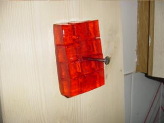 Image result for nailing jello to the wall